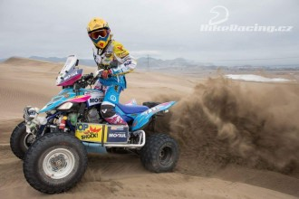 České Yamaha na Dakaru