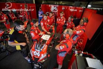 Ducati v Misanu ve třech