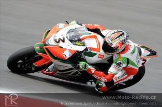 Biaggi dnes jako nejrychlejší nedvouválcový jezdec