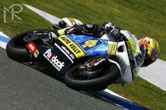 Lukáš ve své druhé GP v nové třídě na 10. místě