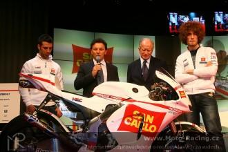 Představení San Carlo Honda Gresini
