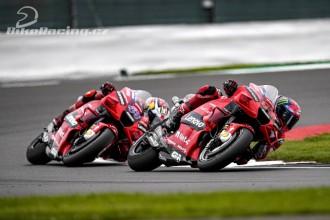 Ducati po GP Velké Británie