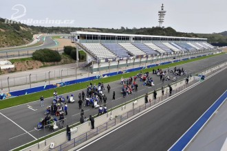 IRTA test MotoE Jerez – čtvrtek