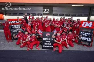 Loučení u Ducati lépe zvládl Dovizioso
