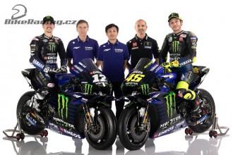 Svůj tým odhalila také Yamaha