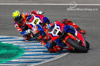 Bautista a Haslam si dali pár kol v Jerezu