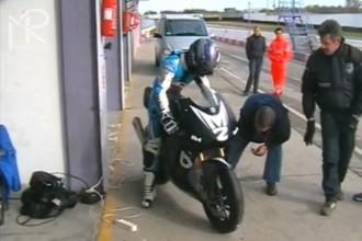 Bimota Moto2 už jezdí
