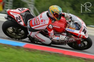 Brno - WSBK, 1. závod