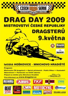 1st  Drag Day 2009  Hoškovice