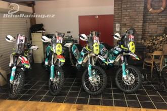 Představení Klymčiw Racing pro Dakar 2019